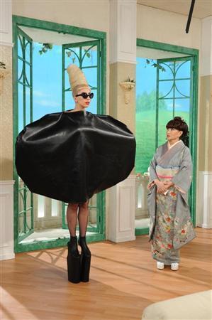 レディー・ガガ「徹子の部屋」でたまねぎ衣装披露.jpeg